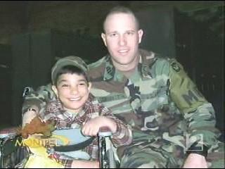 Major Scott Southworth and Ala'a