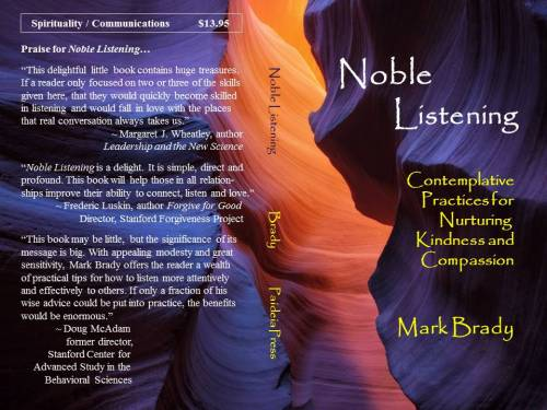 Noble Listening Cover Arizona Canyon Mockup Blue Gold 061615